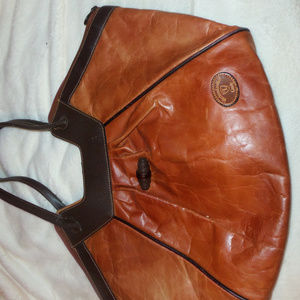 Landy Western Leather purse